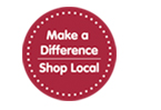 Make a difference in our community.  Shop Local First.